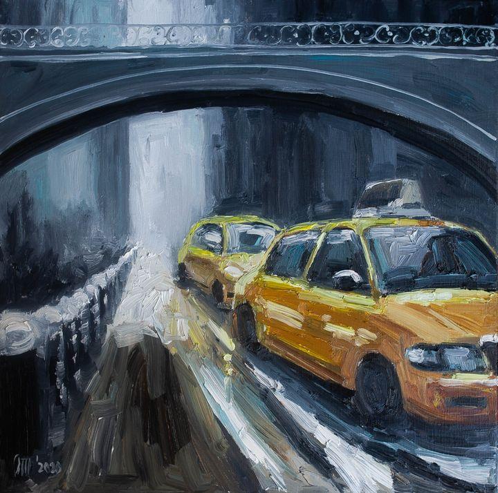 Meet me at the taxi - Olesya Turukina