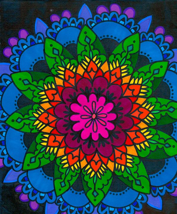 Beauty In Bloom - Mary