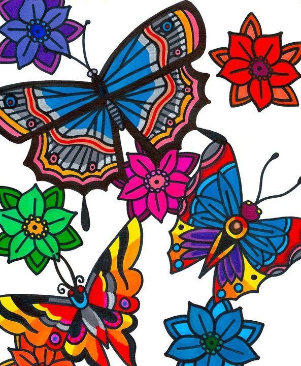 Butterfly Awakening - Mary