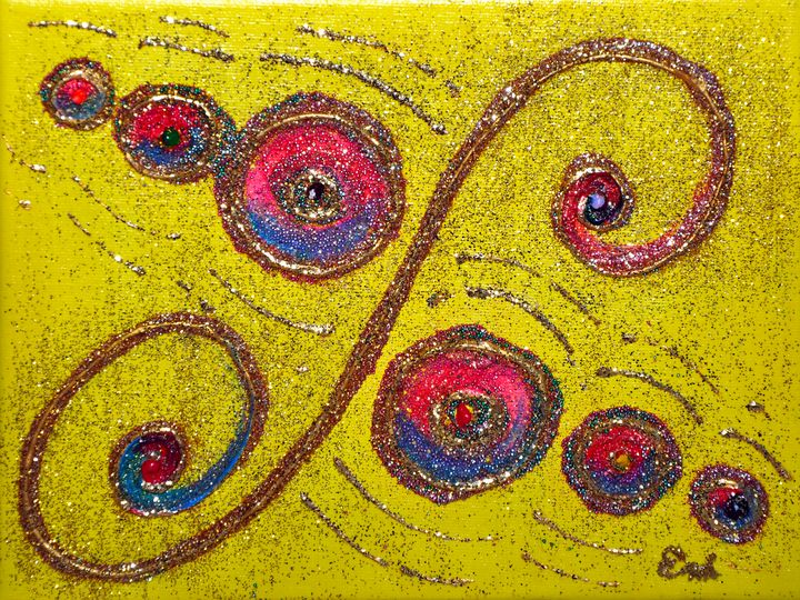 THE MUSIC OF LIFE - Emi Energy Paintings