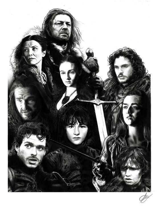 The Stark Family - Stephen Alexander
