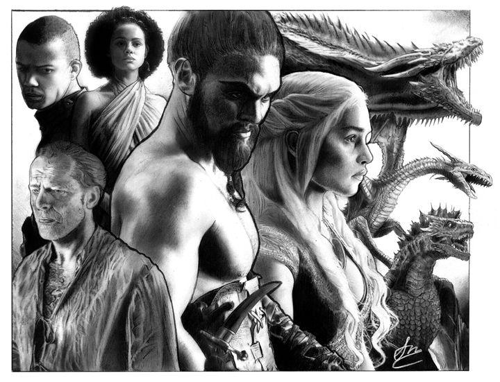 Tygarian Mother of Dragons - Stephen Alexander