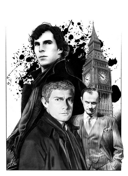 Sherlock - Stephen Alexander
