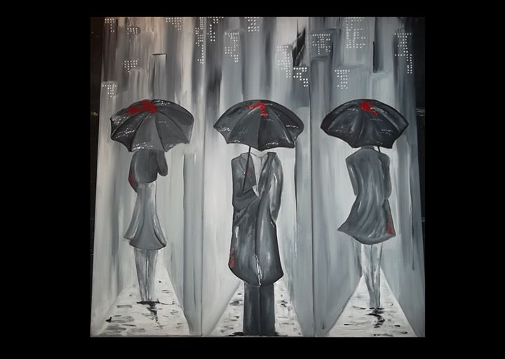 Downtown Rain - Carrie McNorgan