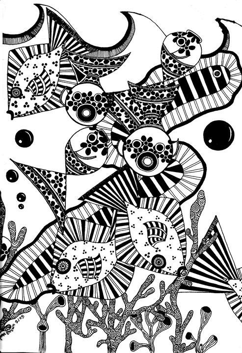 Underwater Kisses - Madelynne Brown Broyles