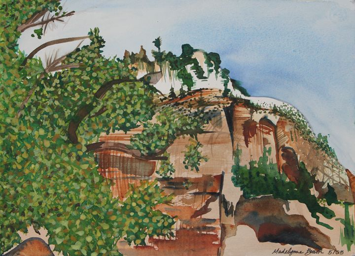 Zion's in the Spring - Madelynne Brown Broyles