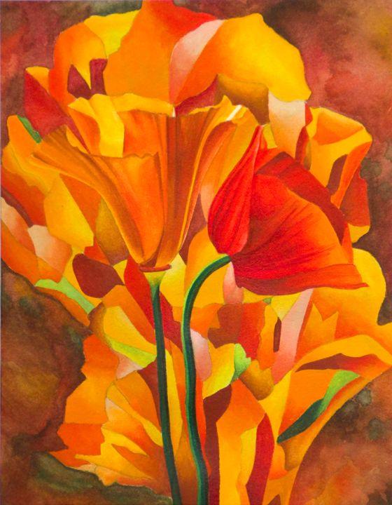 Orange Poppy - Kayla Coates