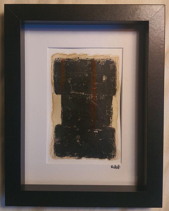 """Black-268."" - The World Of Art Gallery."