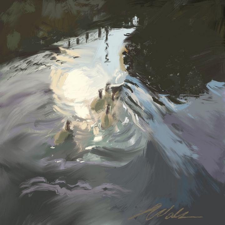 """Swanning around"" - Squintingtosee"