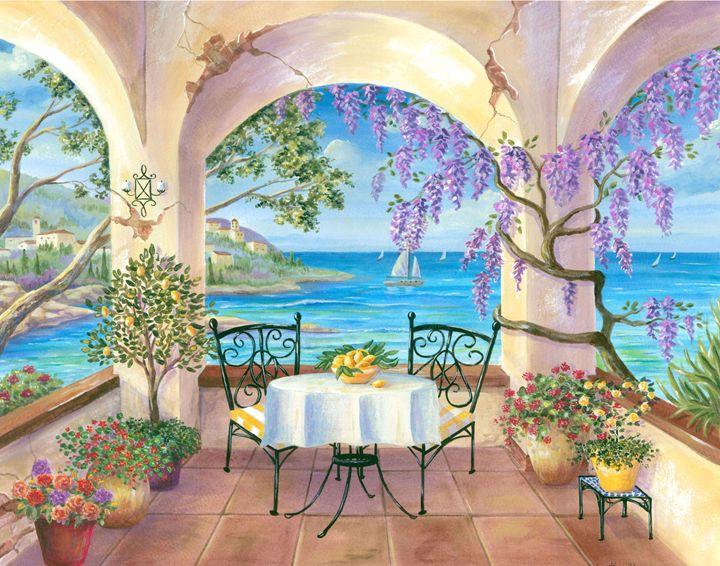 Ocean View - Art by Cheryl Hamilton