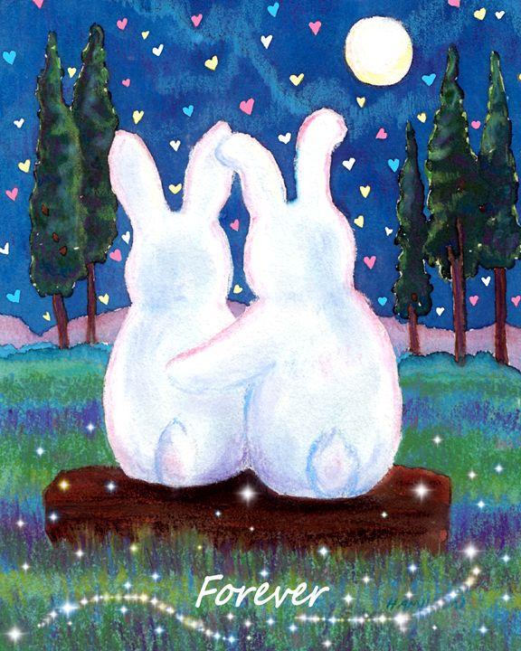 Bunnie Love - Art by Cheryl Hamilton