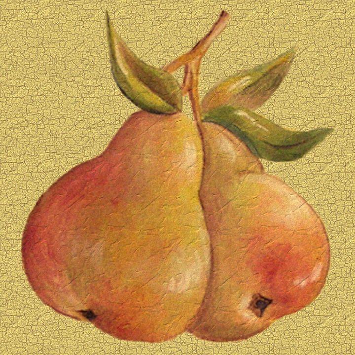 Golden Pears - Art by Cheryl Hamilton