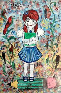 THE GIRL: COLLEGIATE