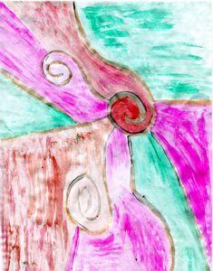 Pink spirally