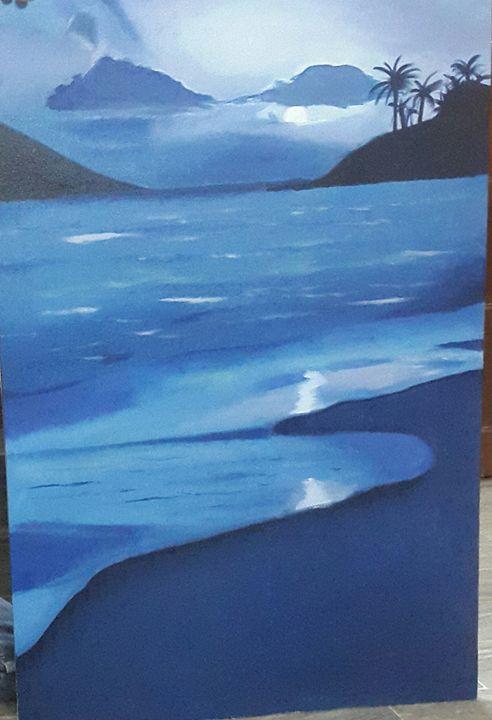 Blue World - Rajper Art Works