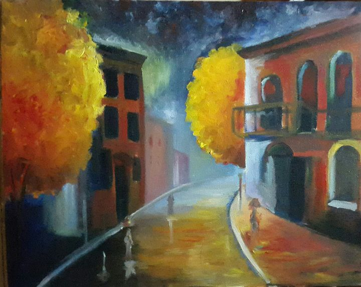 Rainy Romance - Rajper Art Works