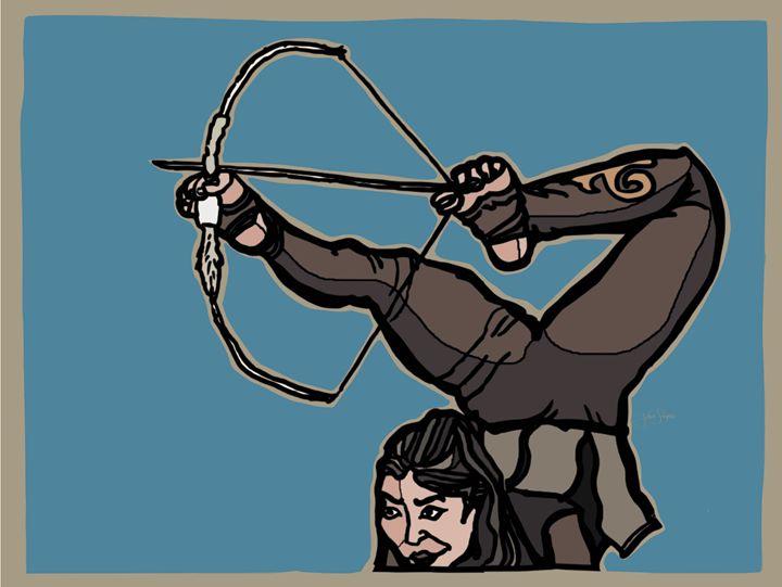 Central Asian Archer - John Snipes