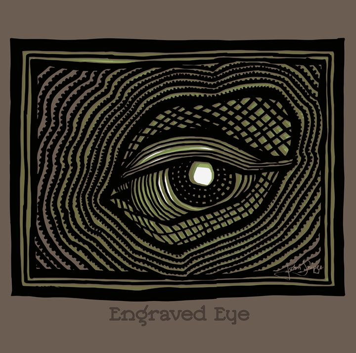 Engraved Eye - John Snipes