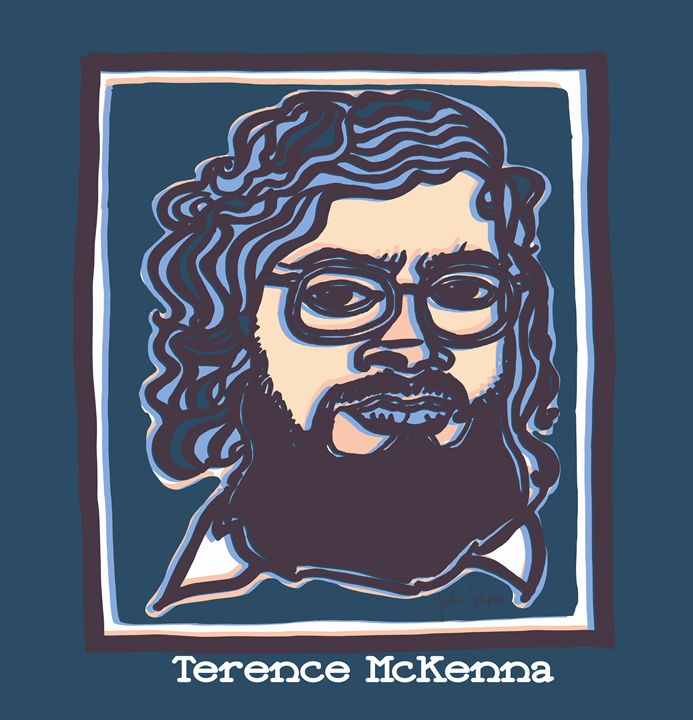Terence Mckenna Art >> Terence Mckenna John Snipes Drawings Illustration