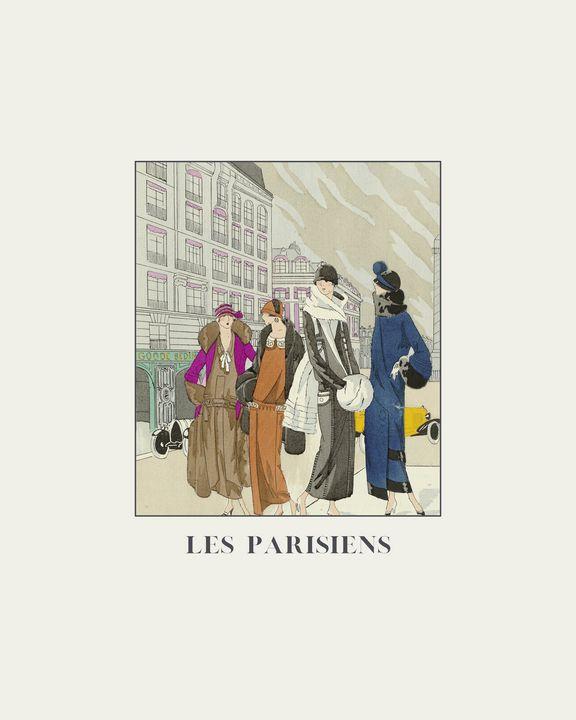 Les Parisiens - Art Deco - NOONY