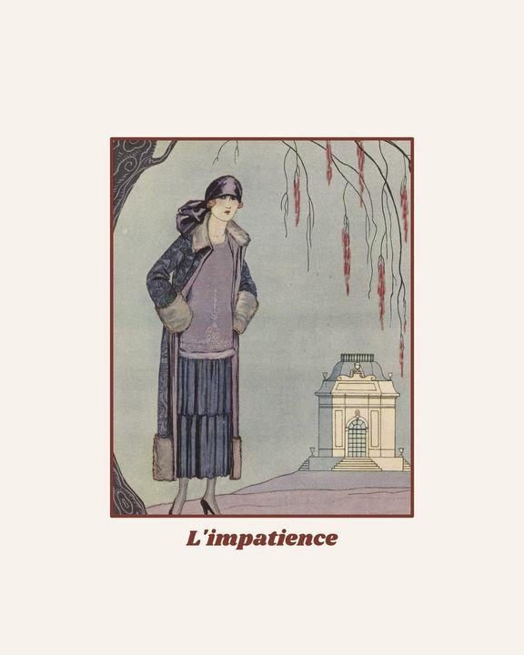L'impatience - Art Deco - NOONY