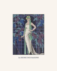 La reine des raisin - Art Deco