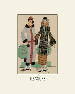 Les soeurs - The Sisters Art Deco