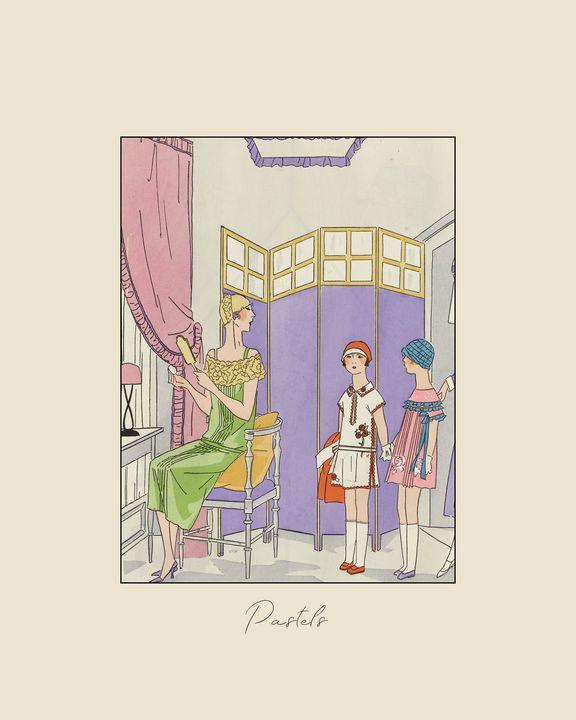 Pastels - Art Deco - NOONY