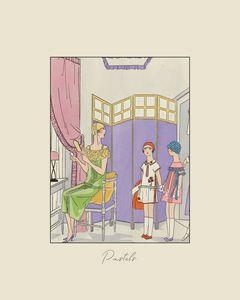 Pastels - Art Deco
