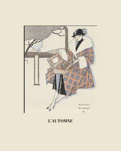 L'automne - Fashion Art Deco