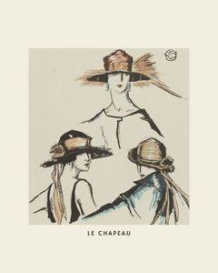 Le chapeau - Fashion, Art Deco, Boho