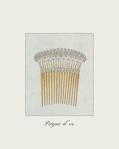 Peigne d'or - Vintage jewelry
