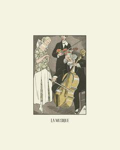 La musique - Historical Art Deco
