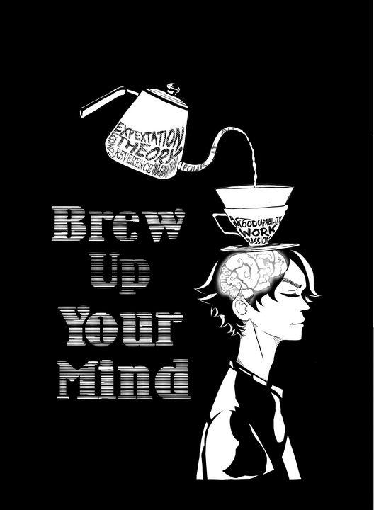 Coffee inspired - Simple artwork