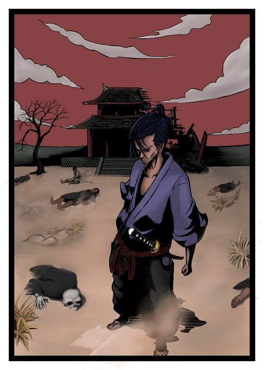Samurai - Simple artwork