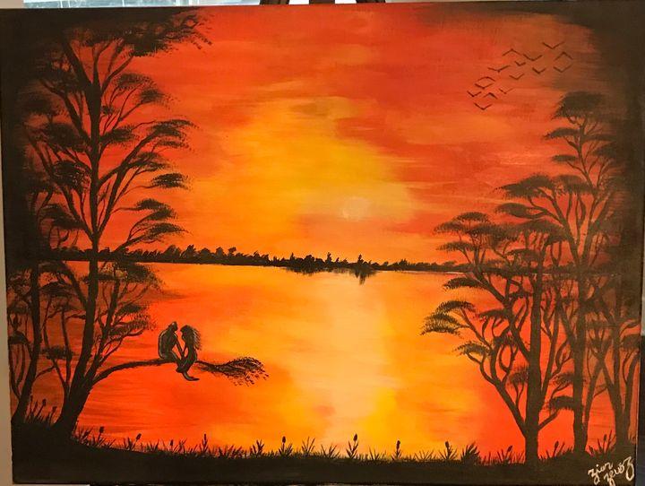 Sunset Love - Zeusz Art