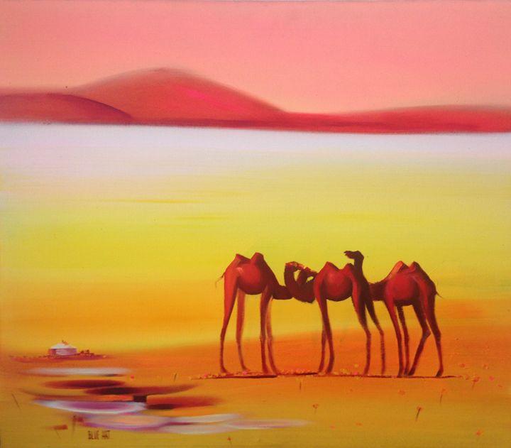 GOBI CAMELS - artavenue