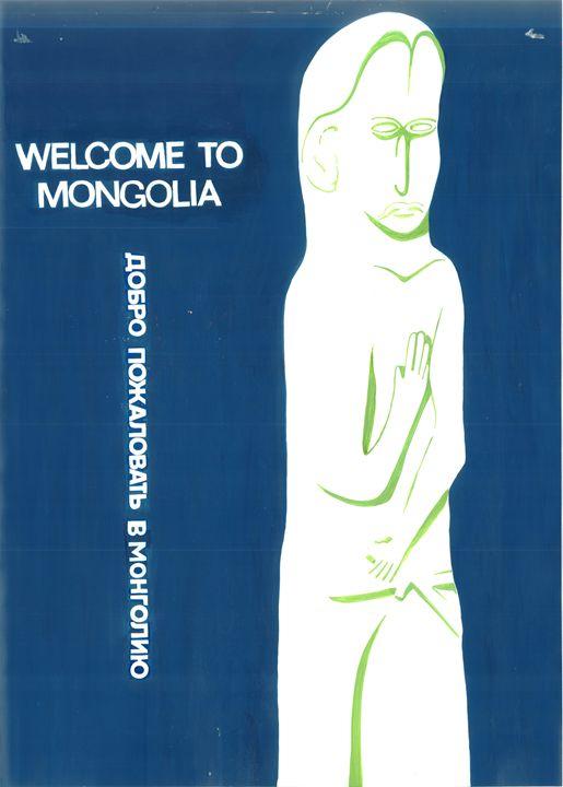welcome to Mongolia - artavenue