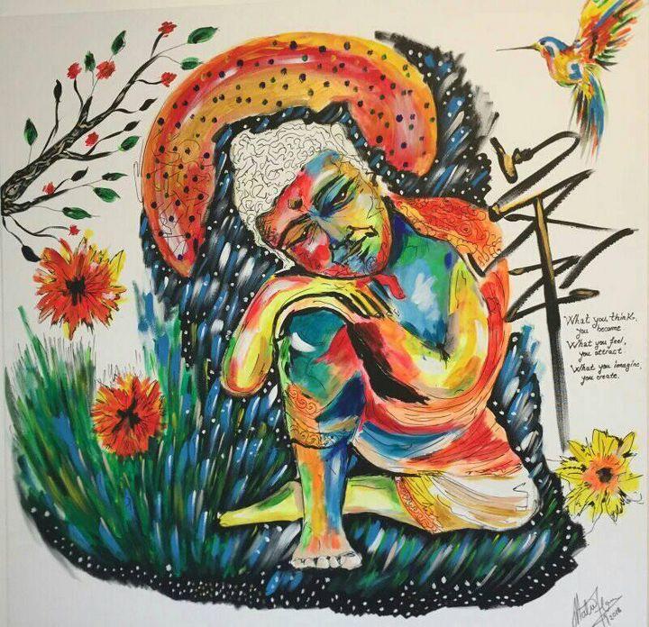 Buddha meditation - Asmodeus