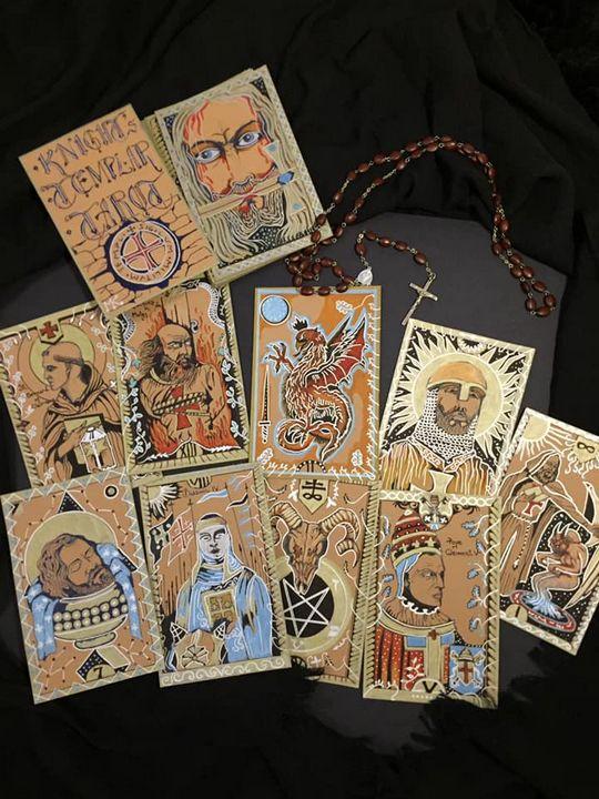 Knights Templar Tarot Deck - Asmodeus