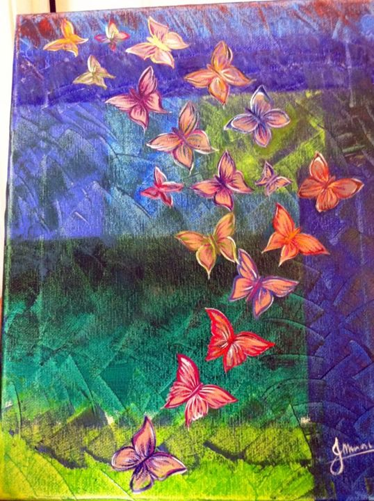 Butterfly Painting - True Art