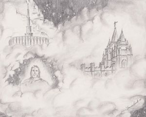 Temples in the clouds