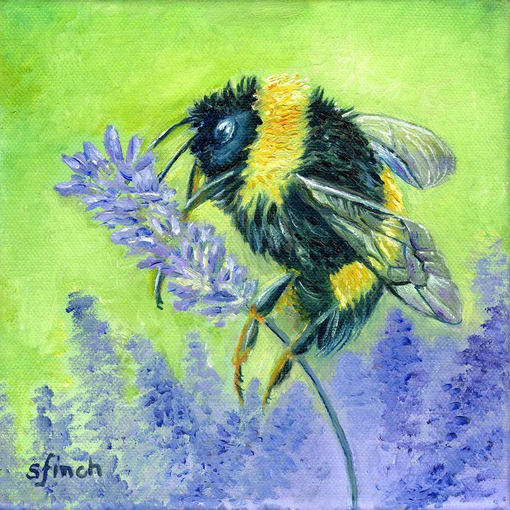 Spirit of Bee - Sonia Finch Art Studio