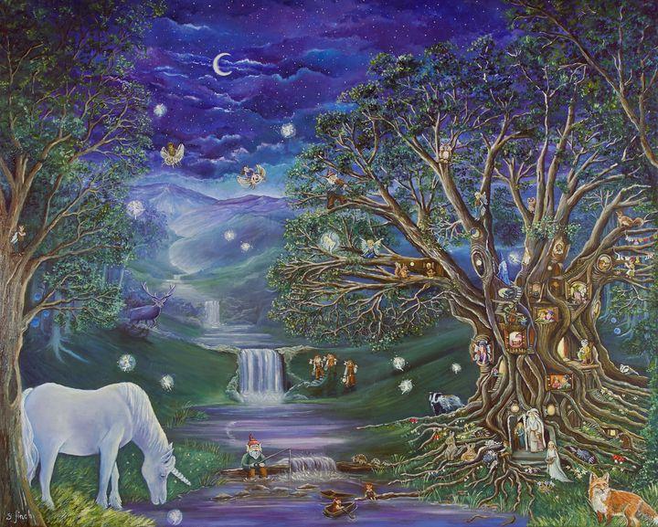 The Fairy Tree - Sonia Finch Art Studio