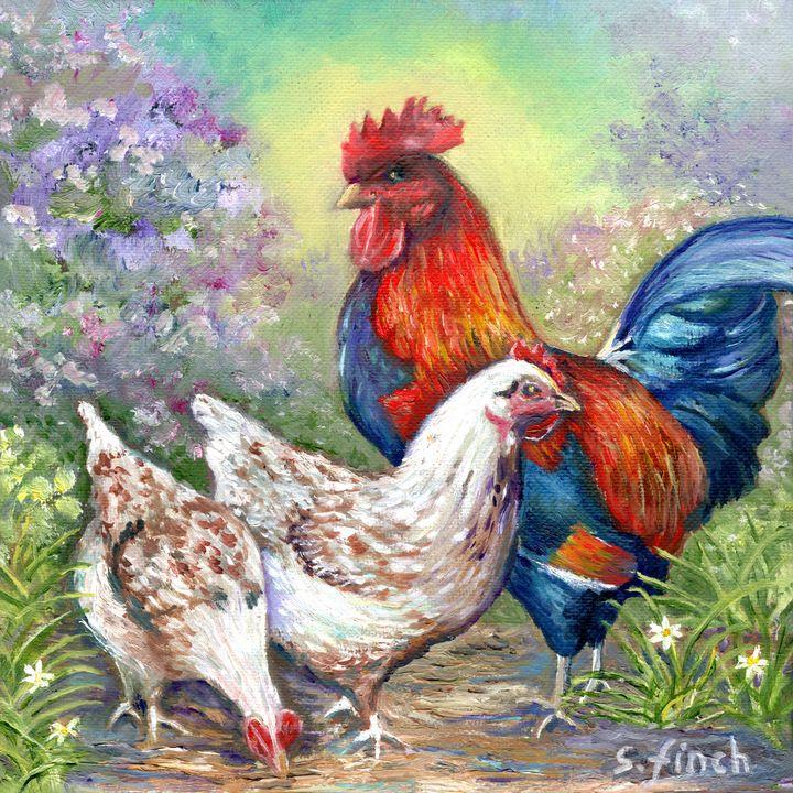 Spirit of Chicken - Sonia Finch Art Studio