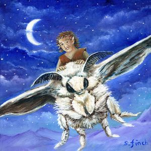 'Elf Moth Rider' by Sonia Finch