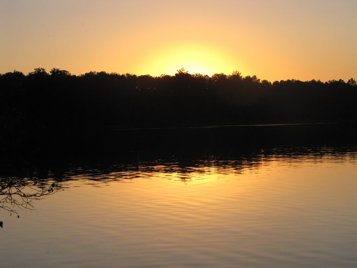 Sunset Reflection - ArtMinor