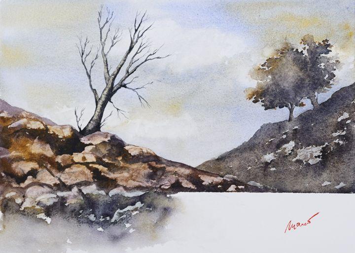 The old tree - moreno-art