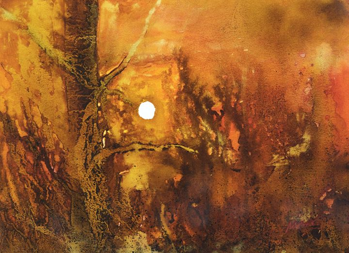 Autumn sunset - moreno-art