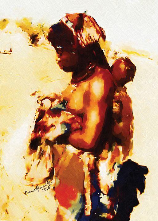Survival - African Digital Art